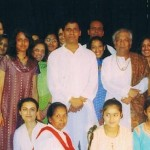 ASM with MAHARAJJI and students